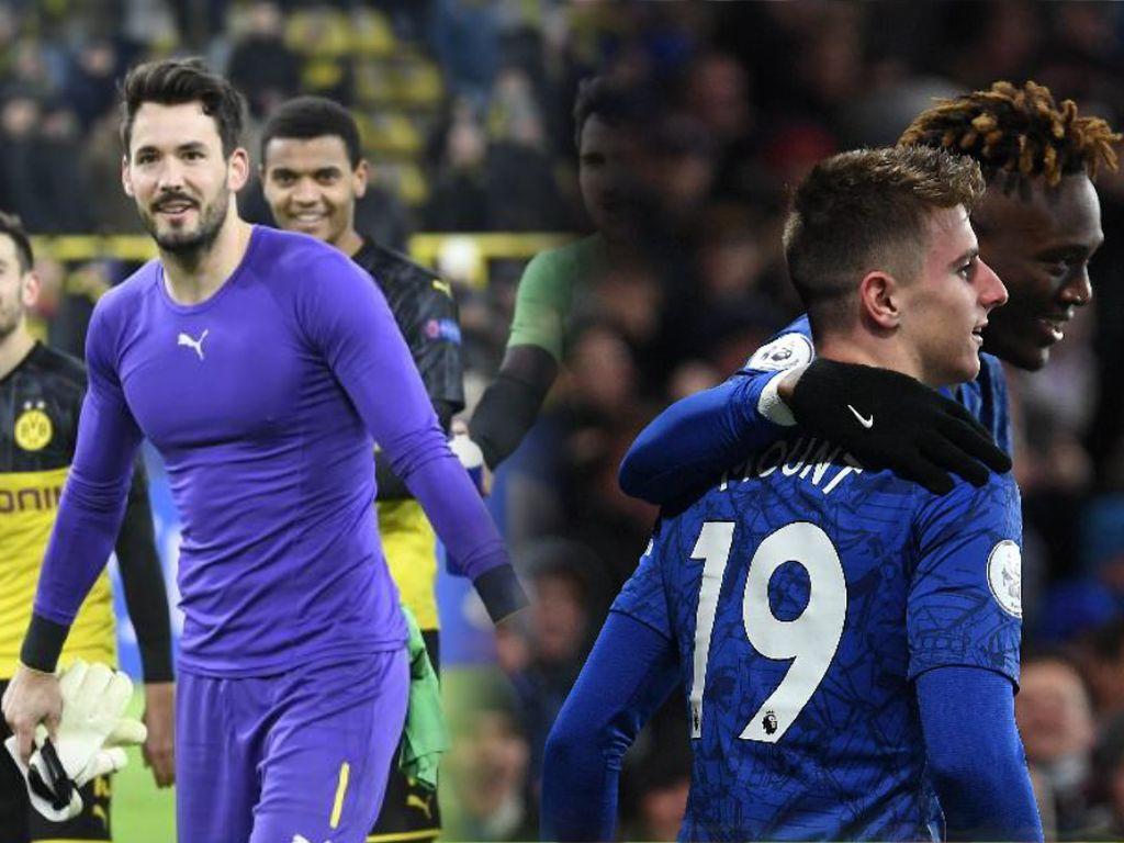 Menang Tipis, Chelsea dan Dortmund Kunci Tiket 16 Besar