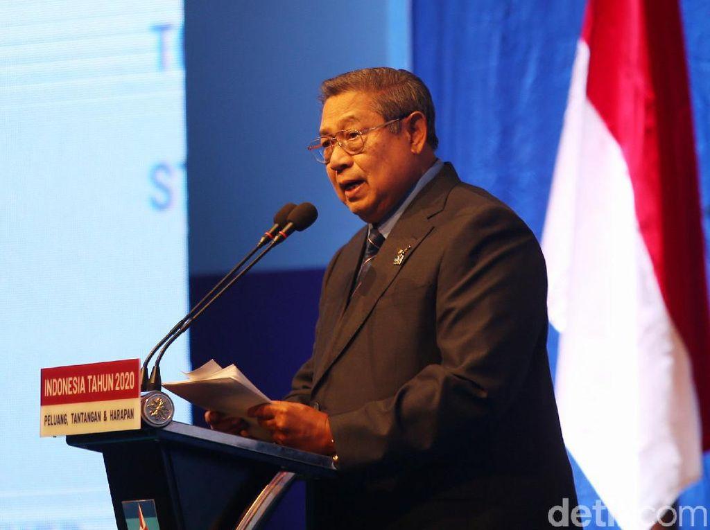 Bicara Kudeta, SBY: Yang Dilakukan Moeldoko di Luar Pengetahuan Jokowi