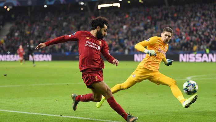 Liverpool kalahkan Red Bull Salzburg 2-0 (Foto: Michael Regan/Getty Images)