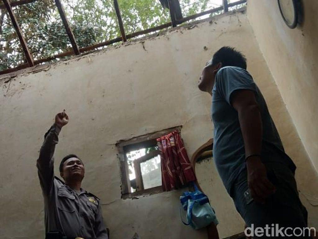 Angin Kencang Rusak 4 Rumah Warga di Probolinggo