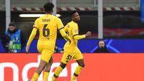 Video Gol Ansu Fati Bikin Inter Angkat Kaki dari Liga Champions