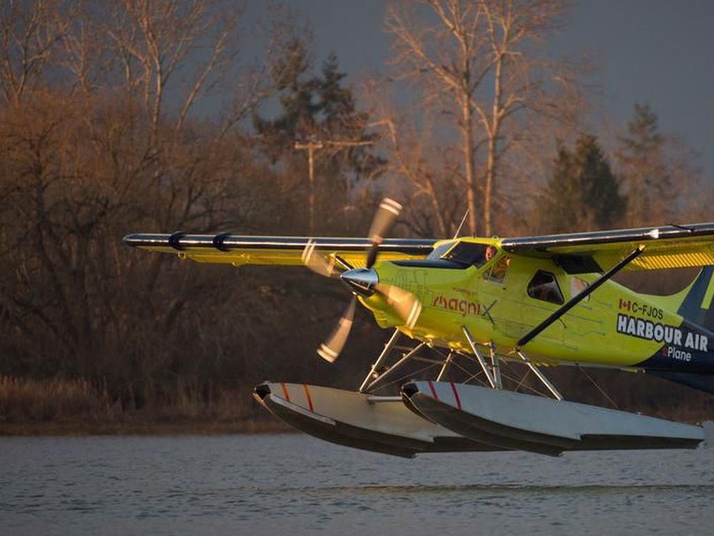 Pertama di Dunia, Uji Terbang Pesawat Listrik Komersial di Kanada