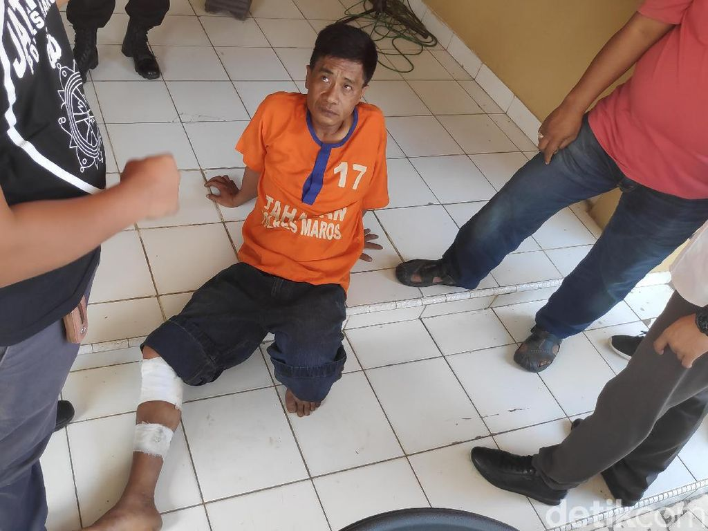 Perampok Obat-obatan di Apotek Maros Sulsel Ditembak Polisi