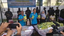 Ada Sekitar 70 Kg Sabu yang Ditemukan BNN dalam Penggerebekan di Medan