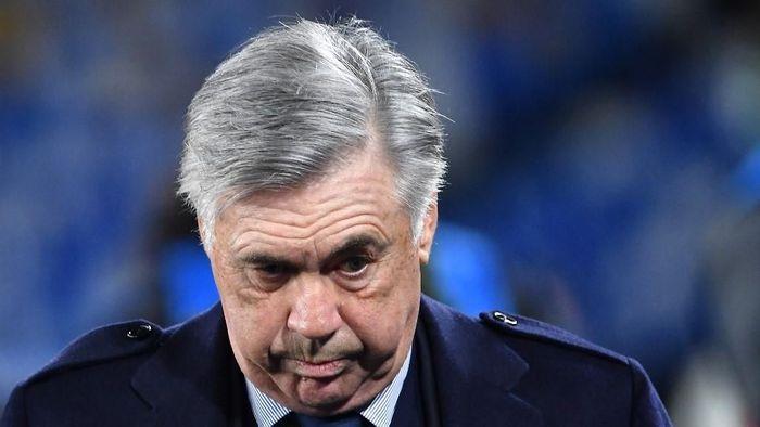 Carlo Ancelotti dipecat sebagai pelatih Napoli. (Foto: Tiziana Fabi / AFP Photo)