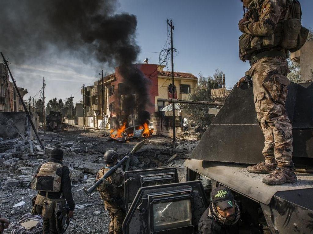 Usai Balas Hizbullah Irak, 4 Roket Meledak Dekat Pangkalan AS
