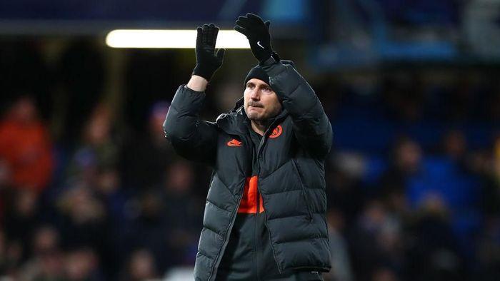 Frank Lampard menilai Chelsea terlalu sering membuang peluang saat hadapi Lille (Foto: Clive Rose/Getty Images)