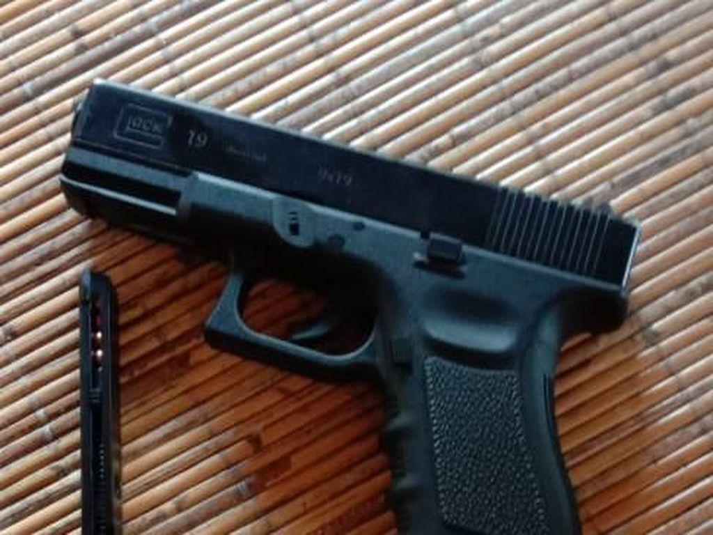 Polisi Sebut Penodong di Hotel Tangerang Tidak Punya Izin Pegang Airsoft Gun