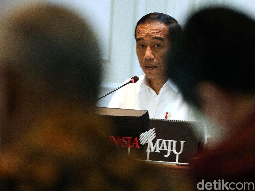 Jokowi Bahas Penyaluran Dana Desa Tahun 2020