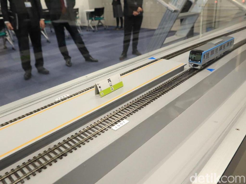 Potret Modern Pusat Pelatihan Kereta Tokyo Metro