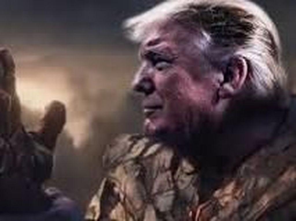 Donald Trump Jadi Thanos, Komikus Marvel Murka
