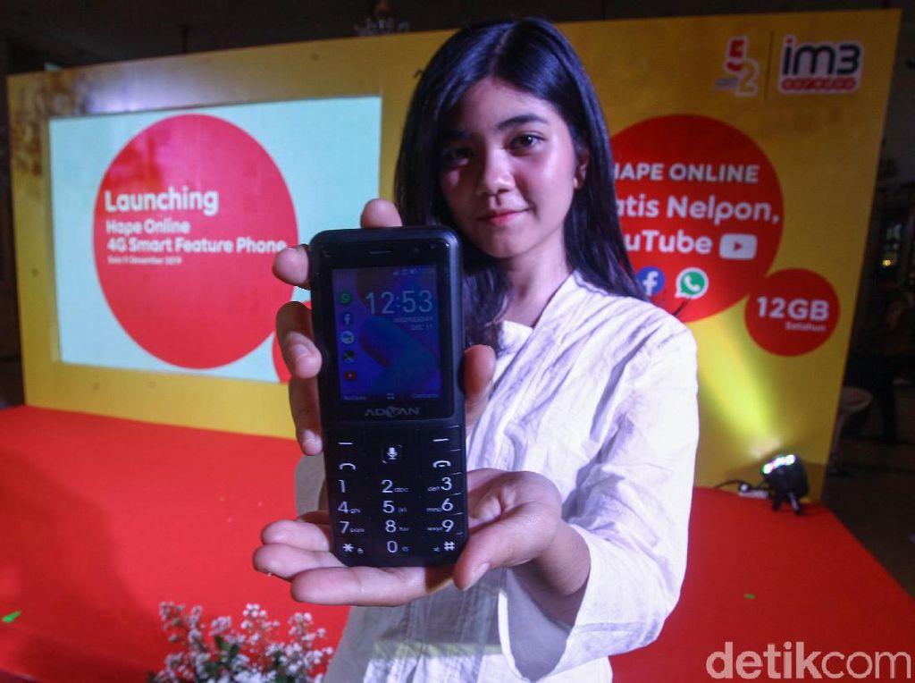 Ini Dia Ponsel 4G Berbekal KaiOS
