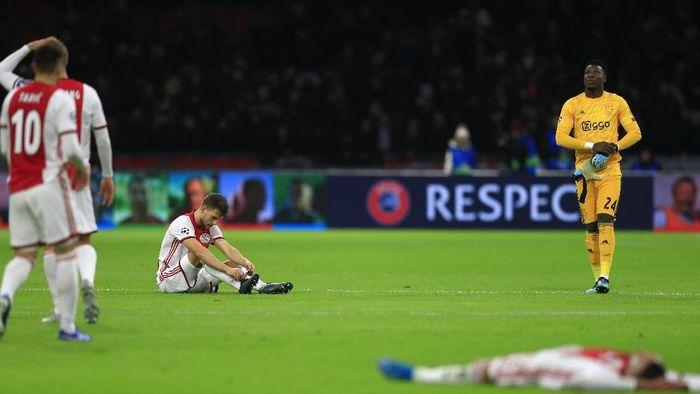 Ajax Amsterdam gagal lolos ke babak 16 besar Liga Champions (Peter Dejong/AP Photo)