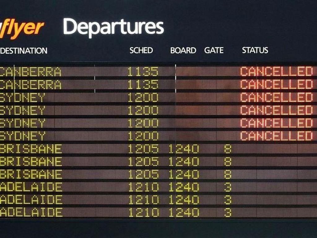 Pilot Maskapai Australia Jetstar Mogok di Akhir Pekan, Hampir 100 Penerbangan Dibatalkan