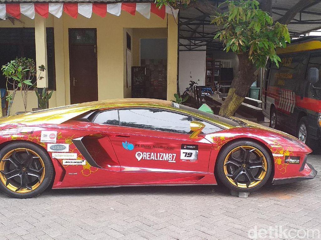 Tak Ada STNK, Lamborghini yang Terbakar Jalan dengan Surat Keterangan