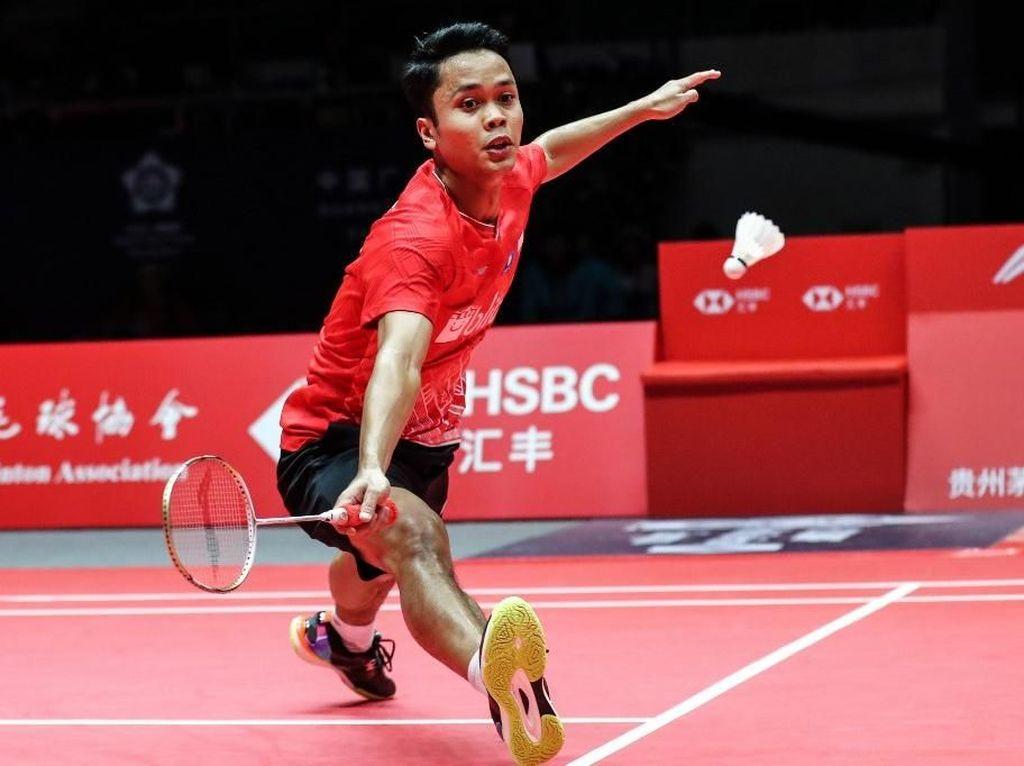 Anthony Kalahkan Chen Long di Laga Kedua BWF Finals