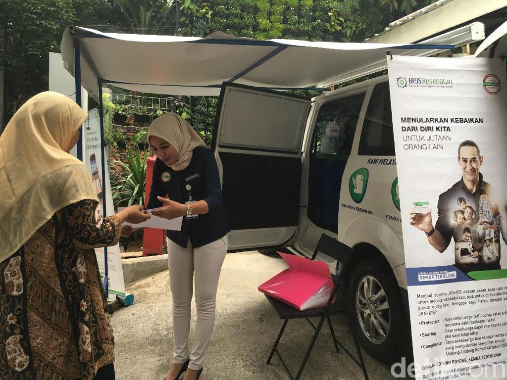 Turun Kelas BPJS Kesehatan Bisa Urus di Mobil Layanan Keliling