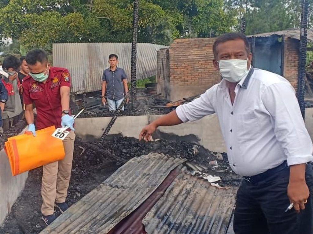 Rumah di Humbahas Sumut Terbakar, Ibu dan Anak Tewas