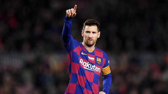 Lionel Messi mewanti-wanti Barcelona agar tidak jatuh di lubang yang sama di Liga Champions. (Foto: Alex Caparros / Getty Images)