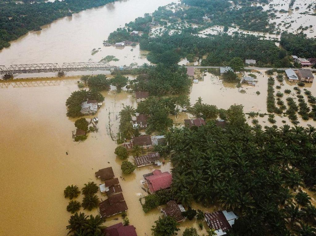 Banjir Telan Korban Jiwa, Walhi Kritik Kampanye Gubernur Riau Green