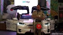 Anies Ingin Jakarta Jadi Role Model Kendaraan Listrik