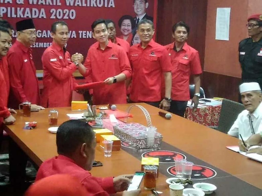 Hari Ini Gibran cs Ikuti Uji Kelayakan Pilkada di Panti Marhaen Semarang