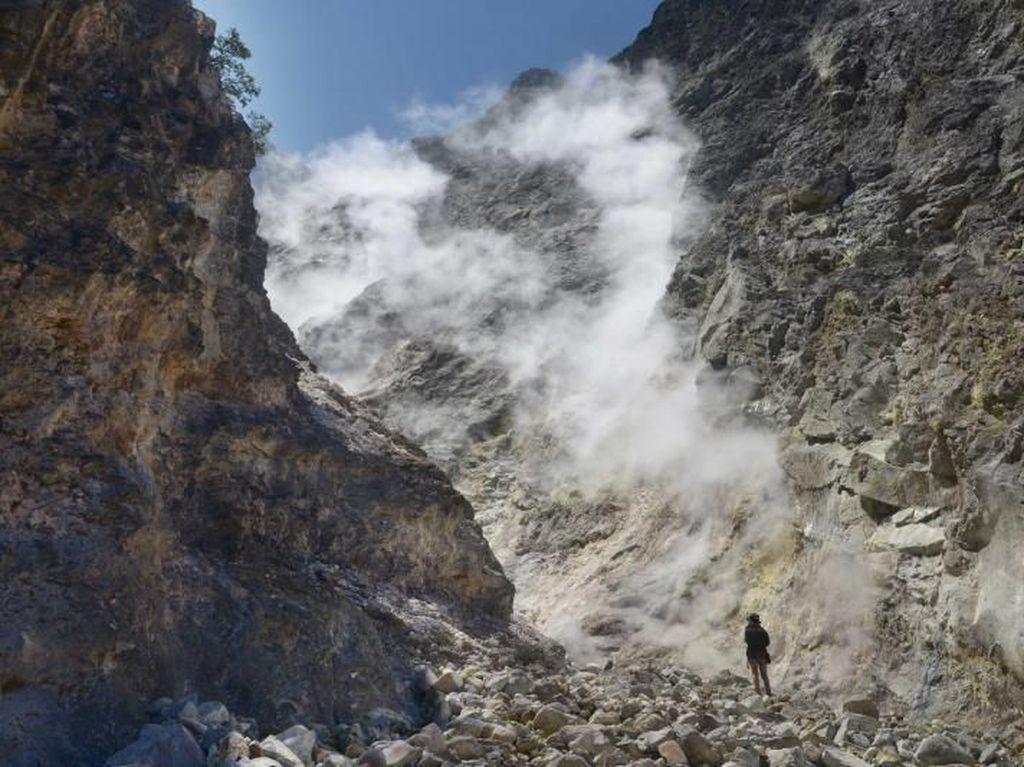 Kawah Candradimuka dalam Kisah Gatotkaca Ada di Gunung Lawu