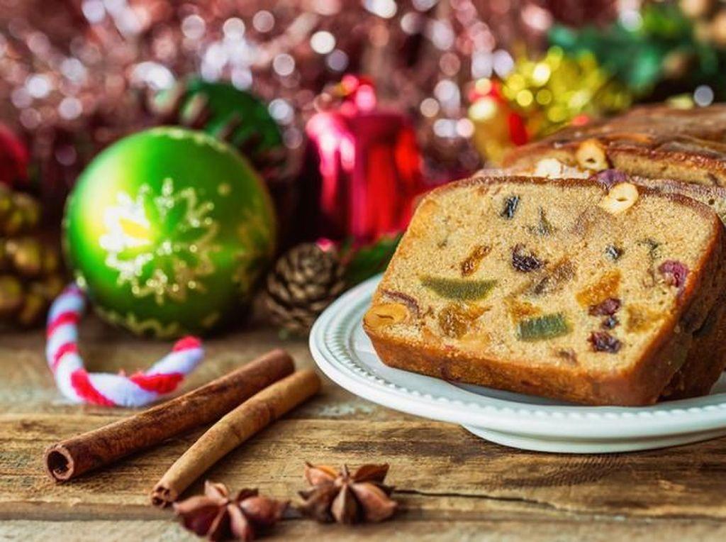 Fruitcake, Kue Ikonik Natal yang Bisa Awet hingga Setahun