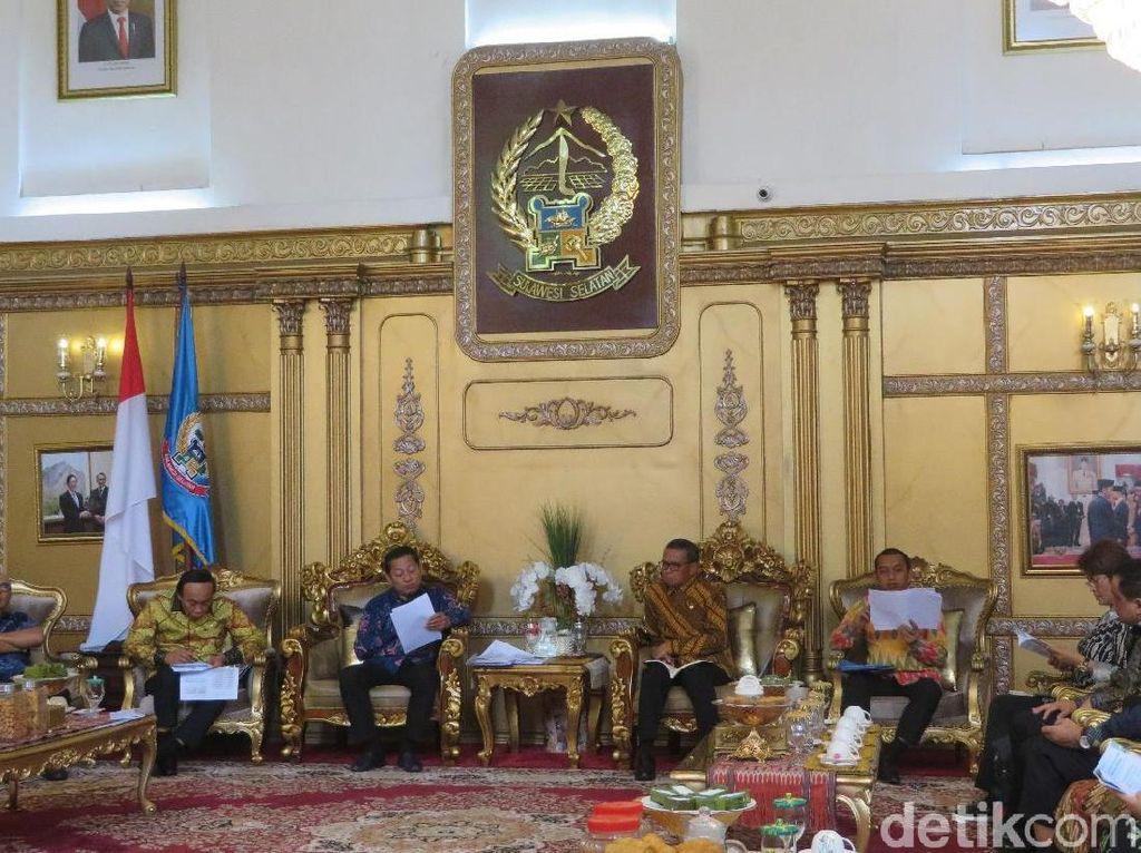 Gubernur Sulsel Laporkan Penataan Kawasan Wisata-Irigasi ke Banggar DPR RI
