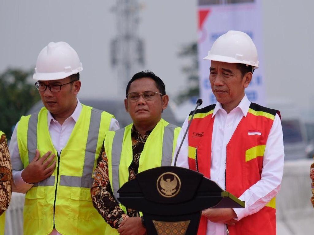 Resmikan Tol Layang Japek, Jokowi Harap Kemacetan Berkurang 30 Persen