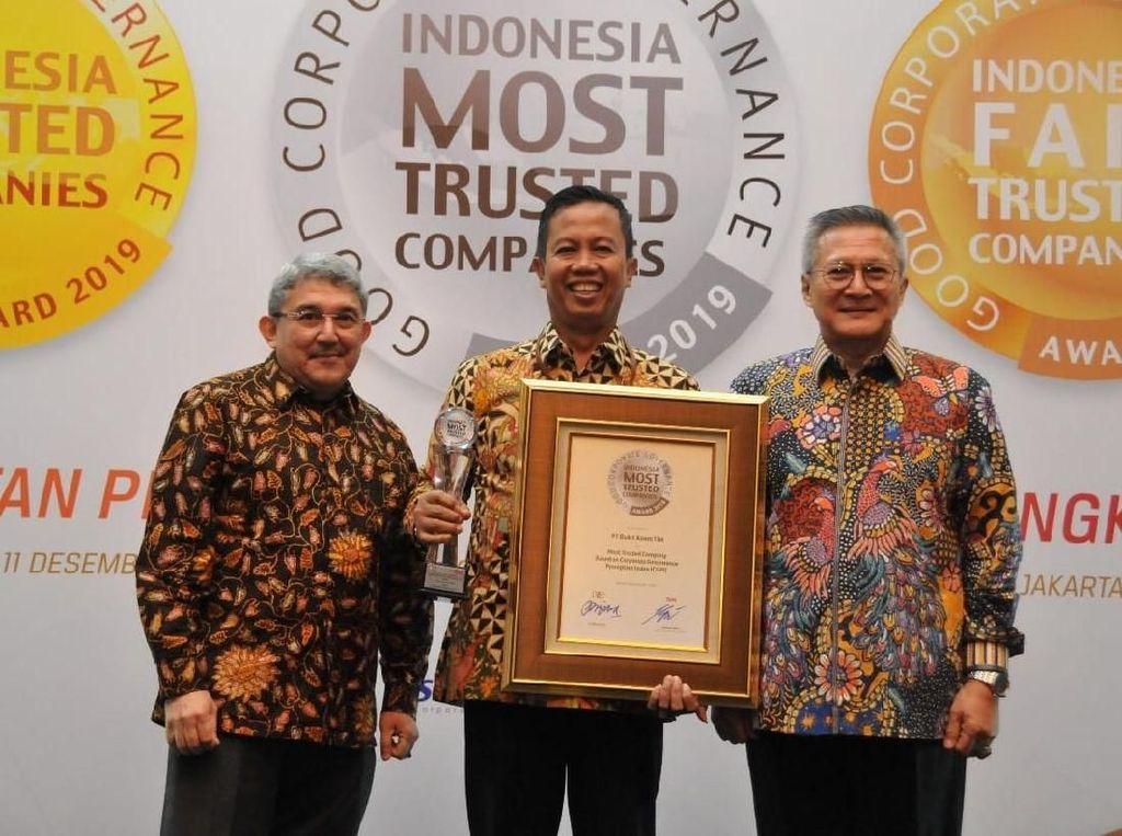 Raih 2 Penghargaan, Bukit Asam Buktikan Manajemen Perusahaan Baik