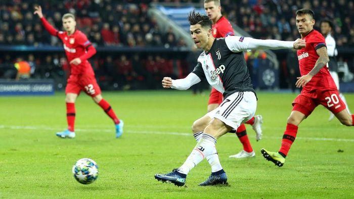 Juventus menang 2-0 atas Bayer Leverkusen (Foto: Lars Baron/Getty Images)