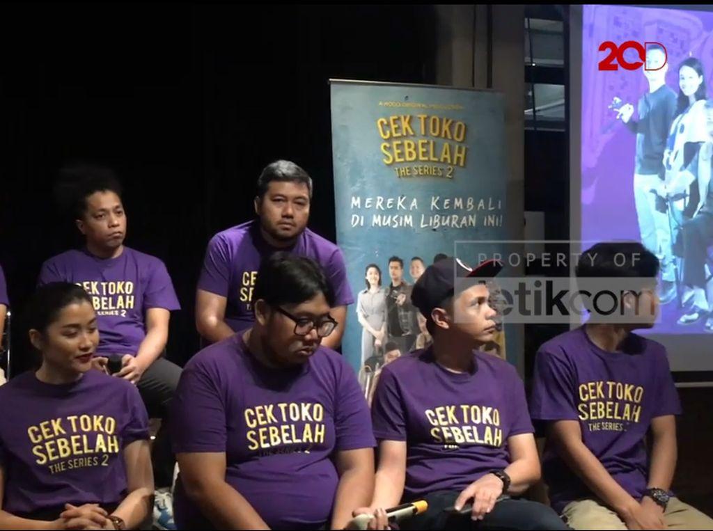 Sekuel Cek Toko Sebelah The Series Digarap 3 Sutradara