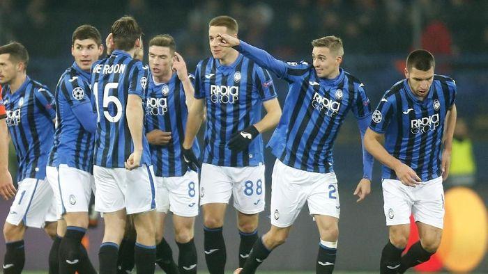 Inter Milan tersingkir, masih ada biru-hitam lainnya dari Italia, Atalanta (Efrem Lukatsk/AP Photo)