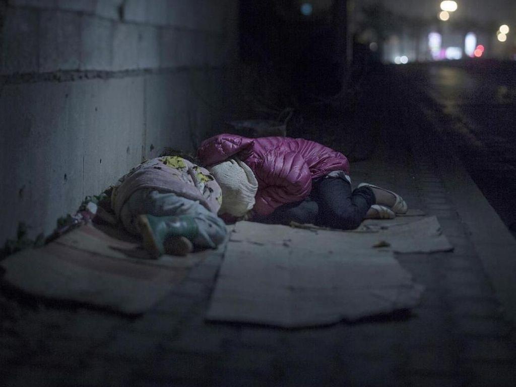 Derita Anak-anak Saat Migrasi Massal di Negara Konflik