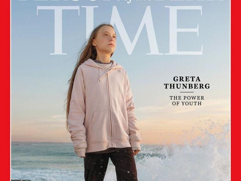Ini Greta Thunberg, Peraih Tokoh Tahunan Termuda Majalah TIME