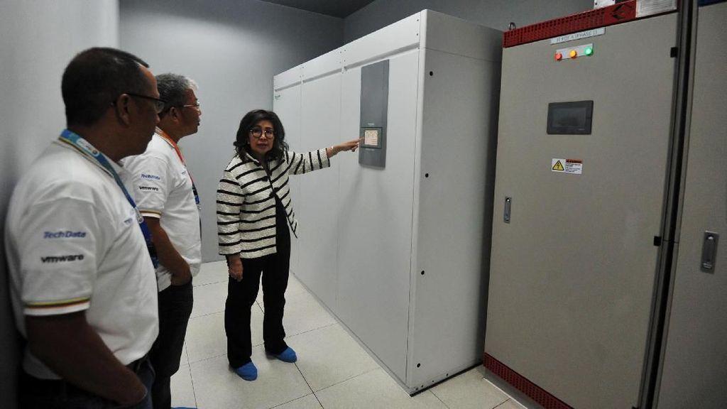 Peresmian Pusat Data Berstandar Internasional
