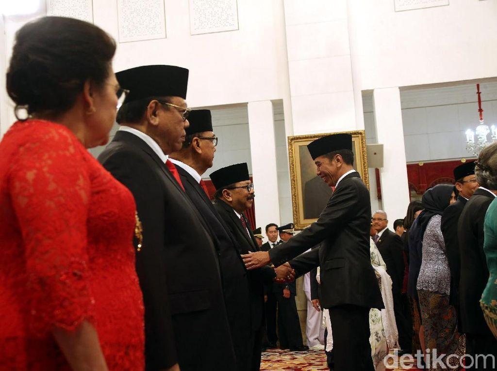 Sosok 9 Anggota Wantimpres Baru yang Hari Ini Dilantik Jokowi