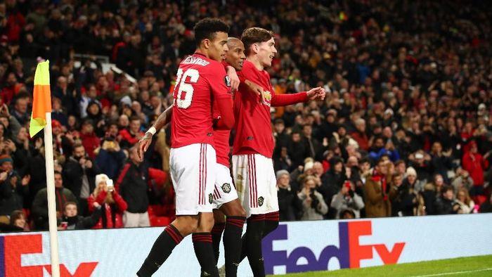 Manchester United menjuarai Grup L Liga Europa usai menggebuk AZ Alkmaar 4-0. (Foto: Clive Brunskill / Getty Images)