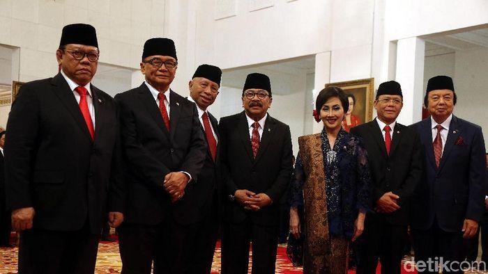 Dewan Pertimbangan Presiden/Foto: Rengga Sancaya