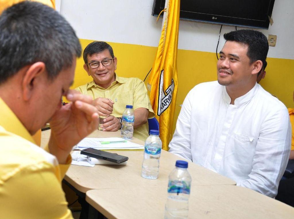 Paman Bobby Tambah Panjang Daftar Keluarga Jokowi Maju Pilkada