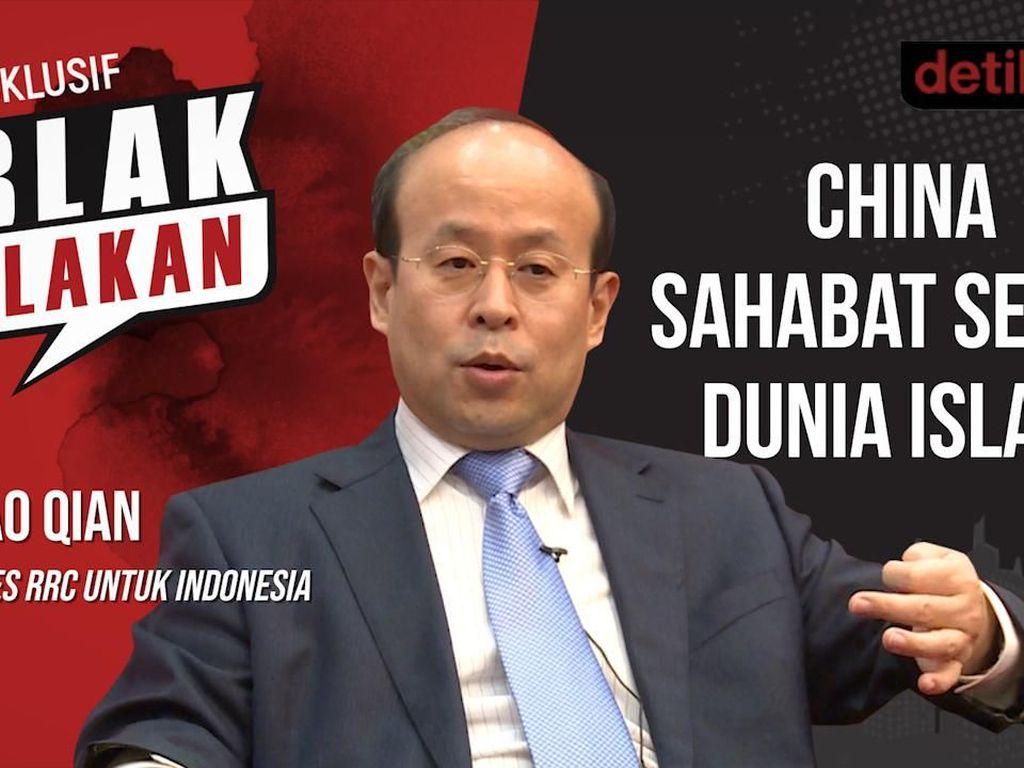 Blak-blakan Dubes RRC: China Sahabat Sejati Dunia Islam