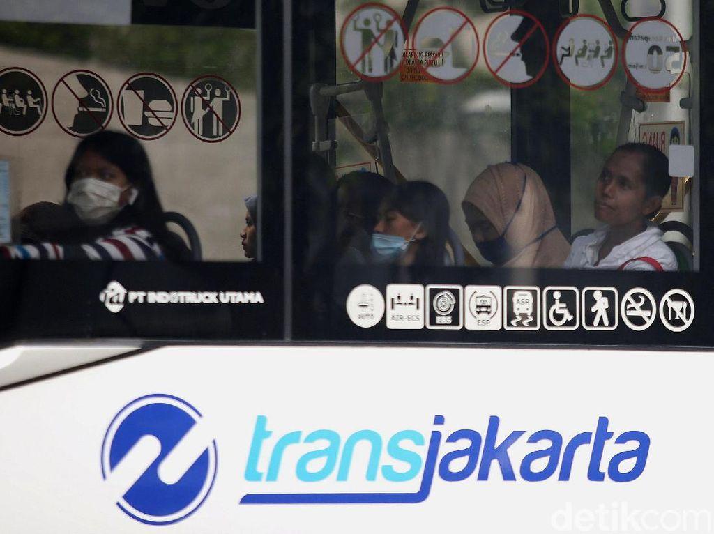 Bus TransJ yang Angkut Penumpang Meninggal Mendadak Dipulangkan ke Pool