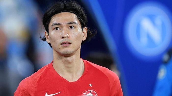 Takumi Minamino diincar Liverpool, demi uang atau memang kebutuhan? (Francesco Pecoraro/Getty Images)