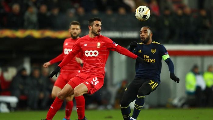 Arsenal imbang 2-2 dengan Standard Liege (Foto: Dean Mouhtaropoulos/Getty Images)