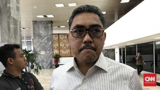 Wakil Ketua MPR Jazilul Fawaid saat ditemui di Kompleks Parlemen, Senayan, Jakarta pada Jumat (13/12)