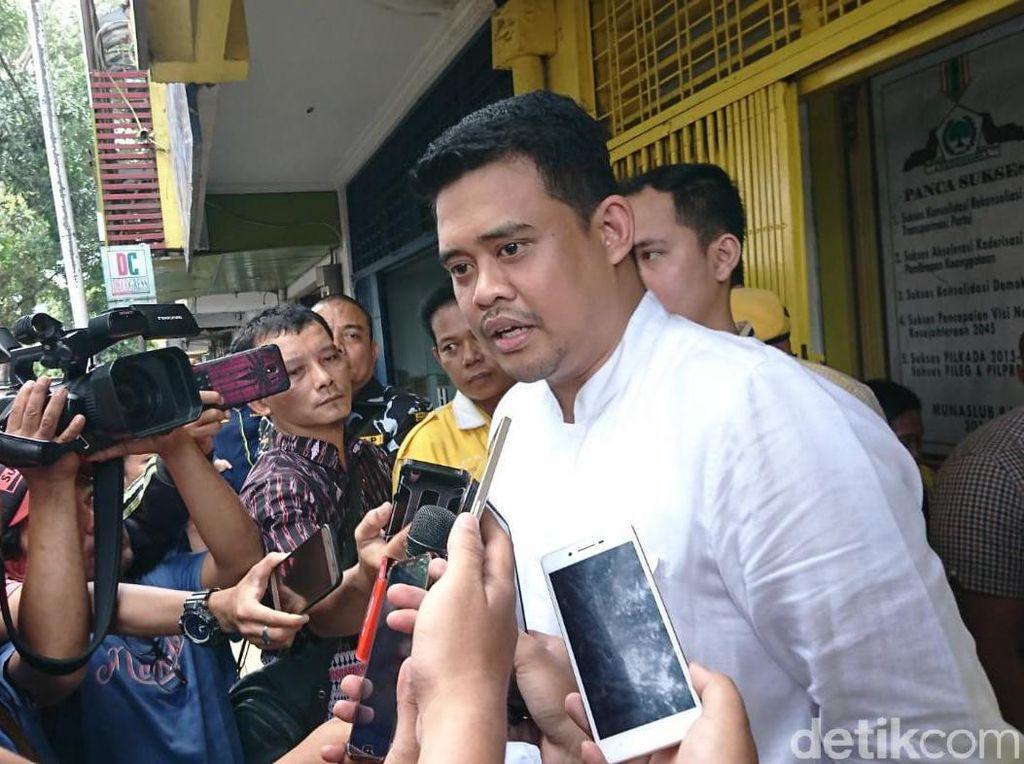 Bobby: Kalau Jadi Menantu Jokowi Gampang, Ngapain Saya Daftar Partai