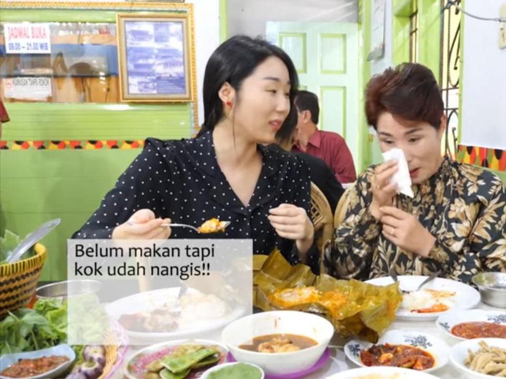 Diajak Makan Tempoyak, Ibu Hari Jisun Sampai Nangis karena Hal Ini