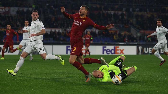 AS Roma gagal menang atas Wolfsberger karena terlalu meremehkan lawan (Foto: Paolo Bruno/Getty Images)
