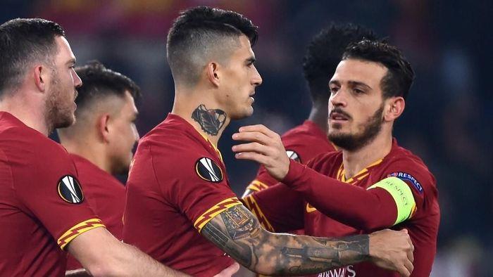 Juventus nantikan partai sulit di markas AS Roma. (Foto: Filippo MONTEFORTE / AFP)